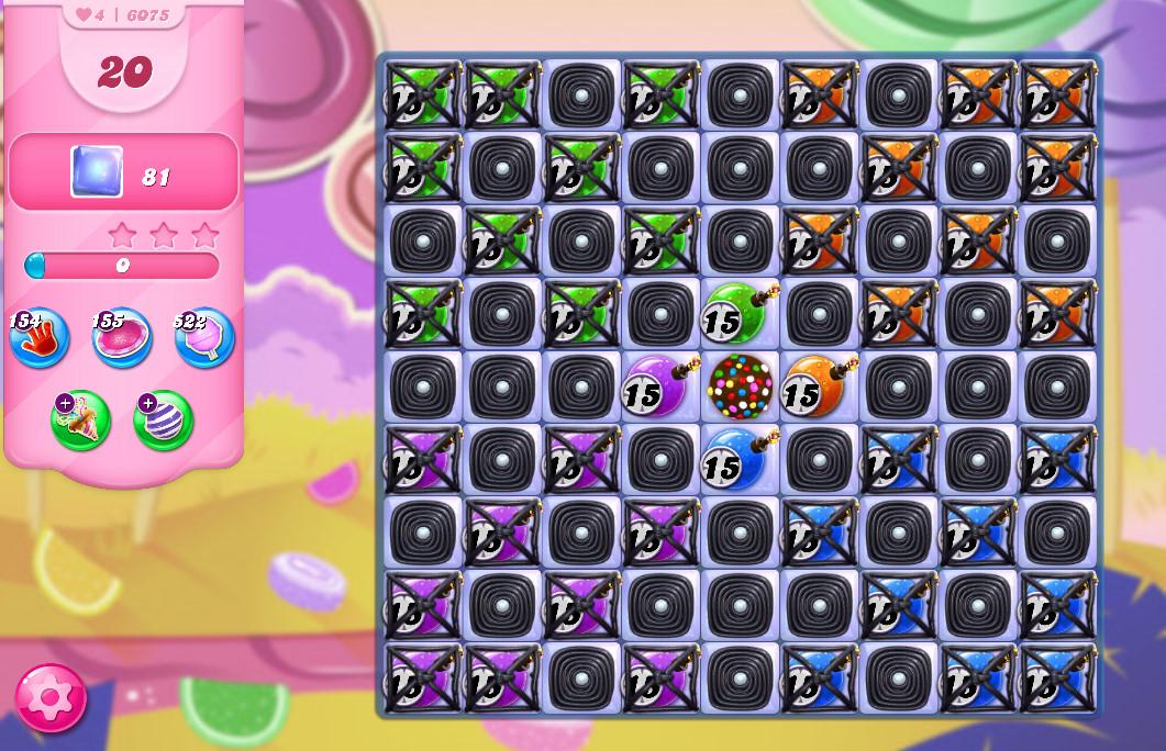 Candy Crush Saga level 6075