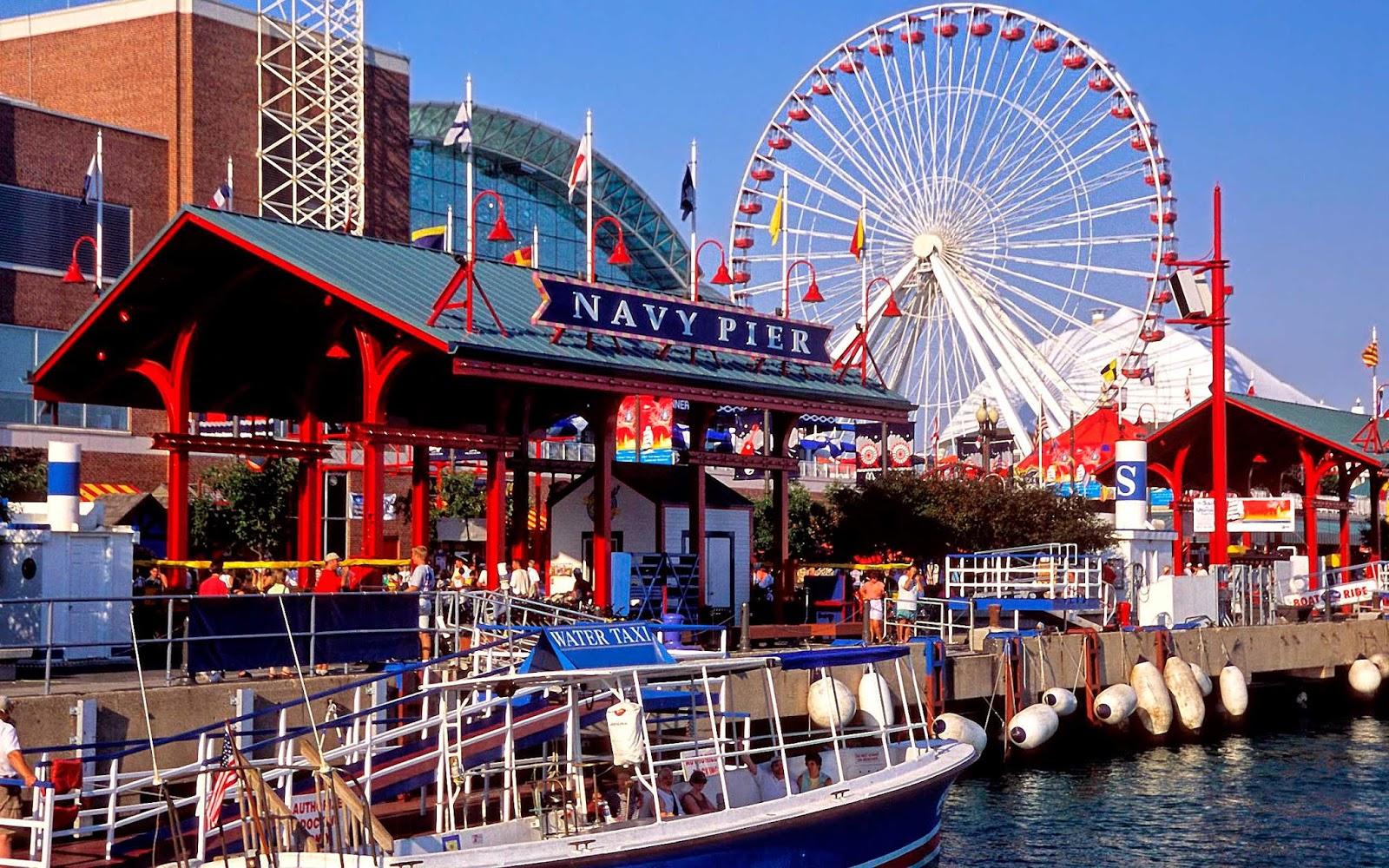 Navy Pier em Chicago