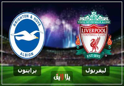 بث حي لايف مشاهدة مباراة ليفربول وبرايتون بث مباشر اليوم 12-1-2019 في الدوري الانجليزي