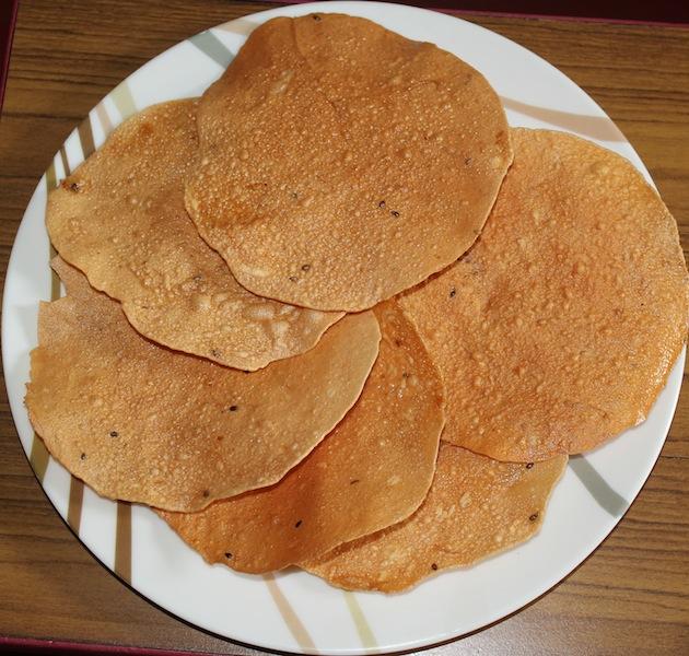 Ruchi Ruchi Aduge: Halasinakayi Happala / Jackfruit Papad