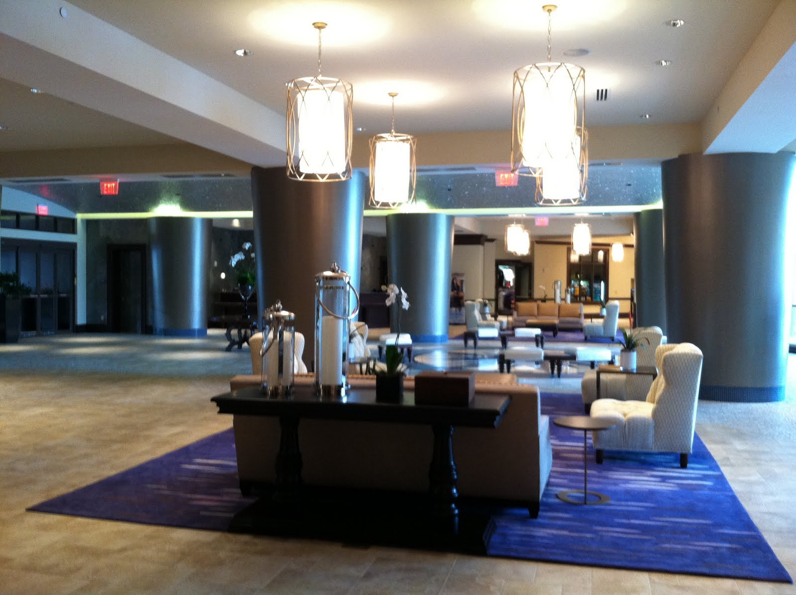 One Of The Many Seating Areas Around Lobby