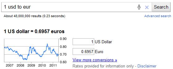 currency converter google uk