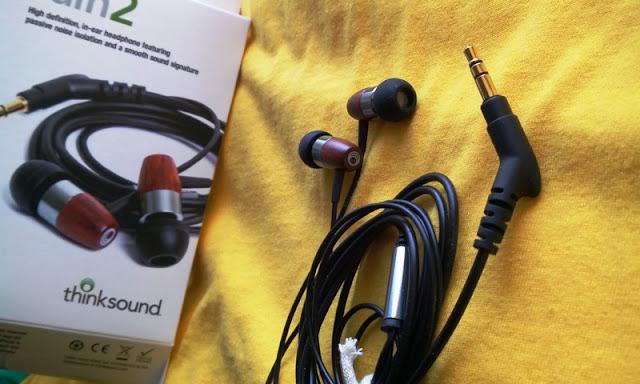 Thinksound Rain2 Dynamic Driver Woods Earphones