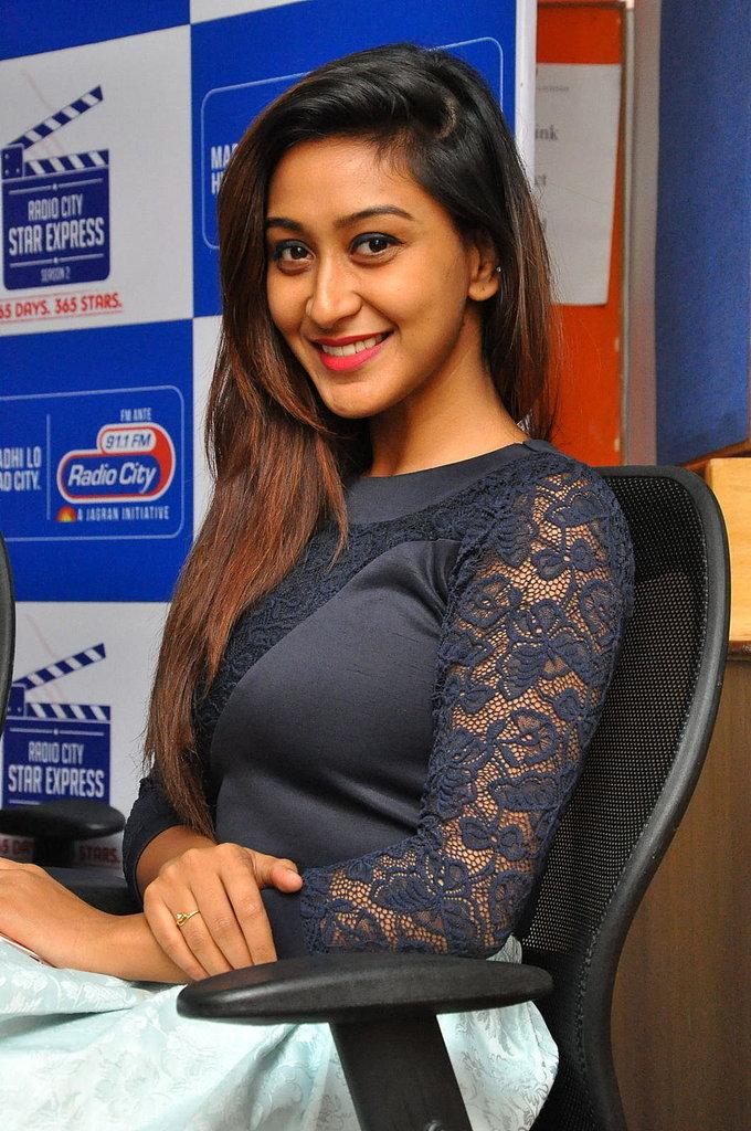 Sharavya at Vana Villu Movie First Song Launch at Radio City