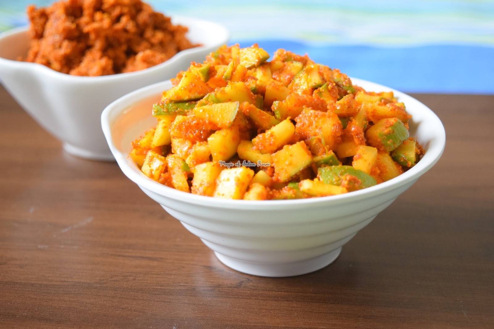 Methia Masala & Instant Mango Pickle Recipe - अचार मसाला और इंस्टेंट आम का अचार रेसिपी - Priya R - Magic of Indian Rasoi