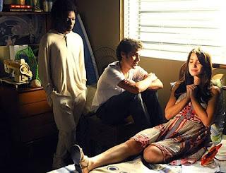 Viviane (Nathália Dill), Daniel (Jayme Matarazzo) e Seth (Alexandre Rodrigues) em cena de 'Escrito Nas Estrelas',