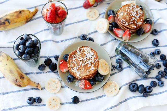 Sugar Banana Pancakes (Grain Free, Gluten Free and Sugar Free)