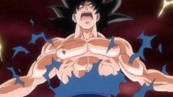 El nuevo migatte no Gokui de Goku para la nueva saga Dragon Ball Super