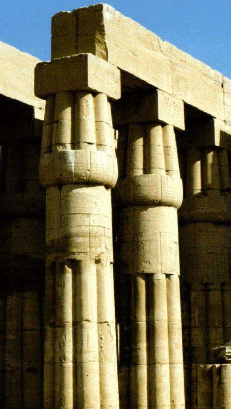 MrZeus La arquitectura en Egipto