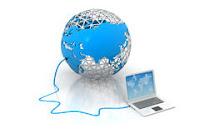 Computer collegato al mondo
