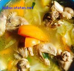 Cara Membuat Masakan Soto Ceker Kepala Ayam Paling Nikmat