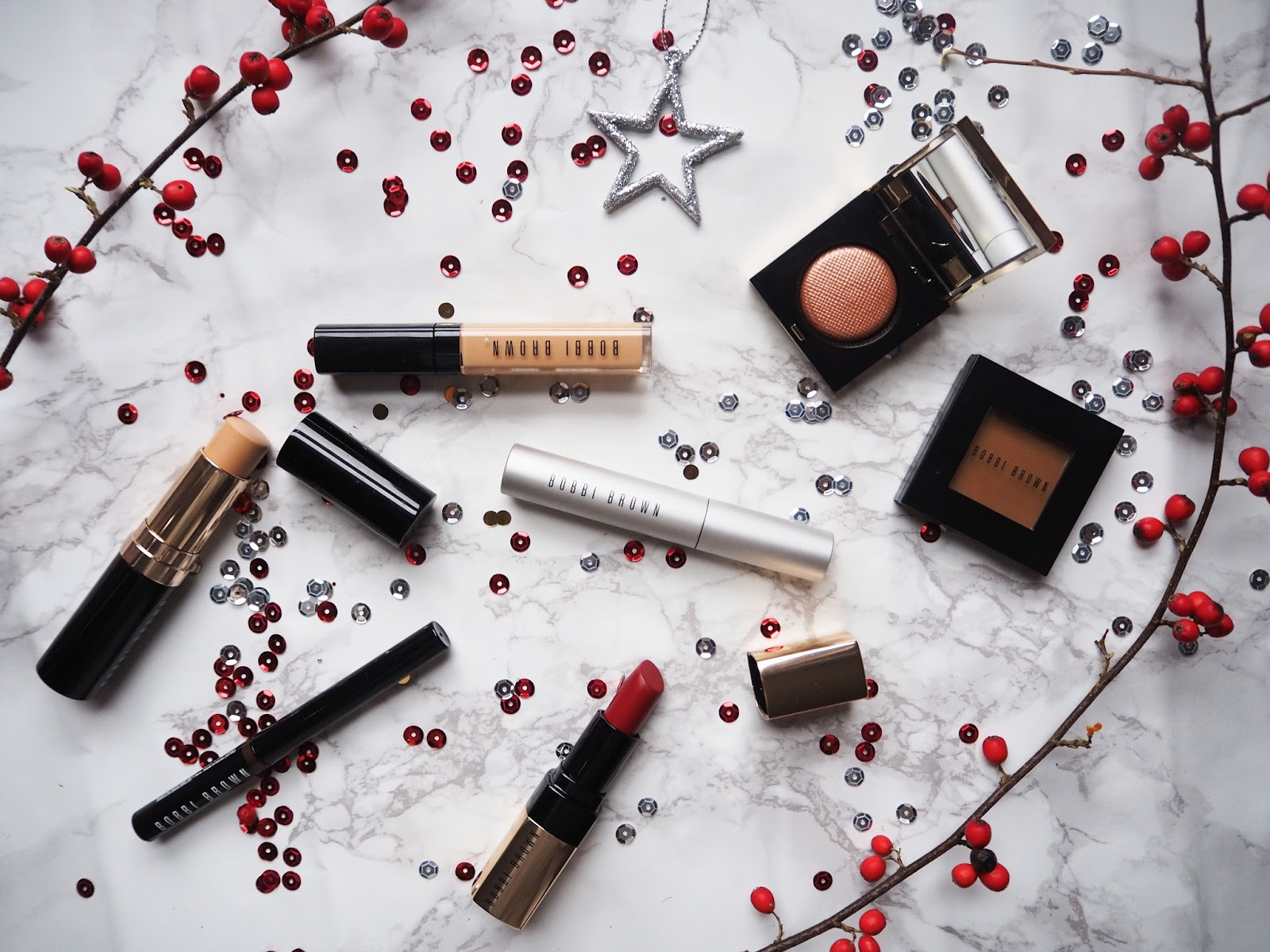 A Christmas Make-up Look With Bobbi Brown // Beauty Post // Lauren Rose Style
