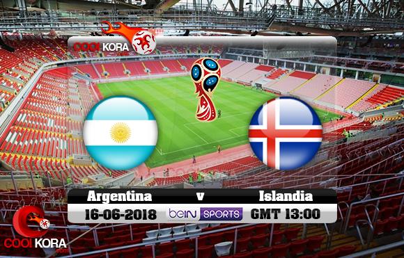 مشاهدة مباراة الأرجنتين وأيسلندا اليوم 16-6-2018 بي أن ماكس كأس العالم 2018