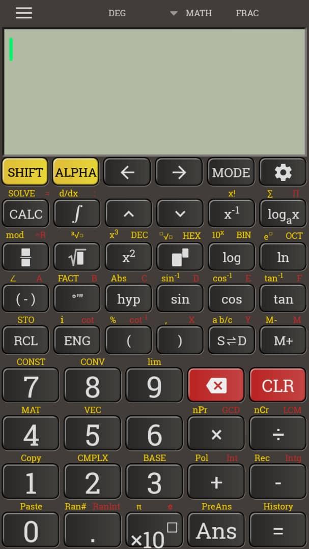 تحميل آلة حاسبة Casio Fx 991 للاندوريد مجانا الفريد في