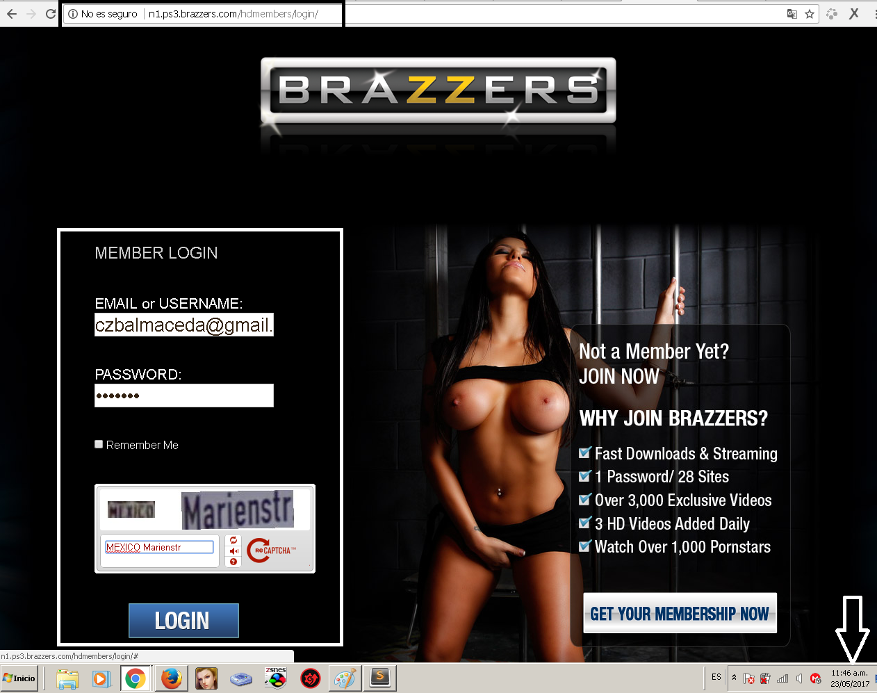 brazzers porn account