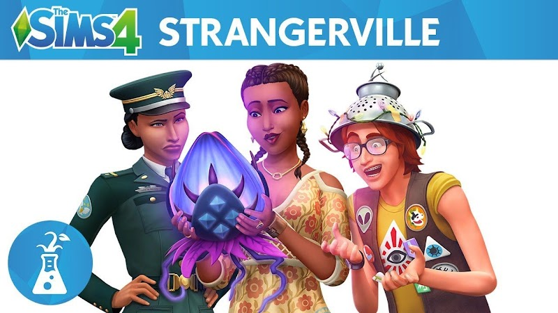 THE SIMS 4 UPDATE GAMEPACK STRANGERVILLE