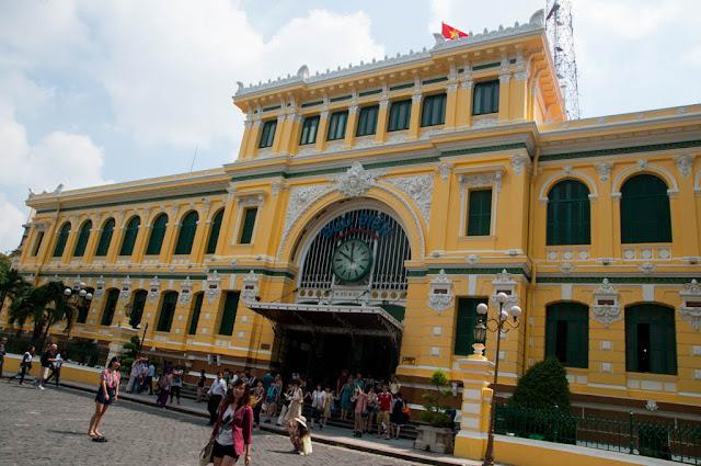 Edificio de Correos Ho Chi Minh