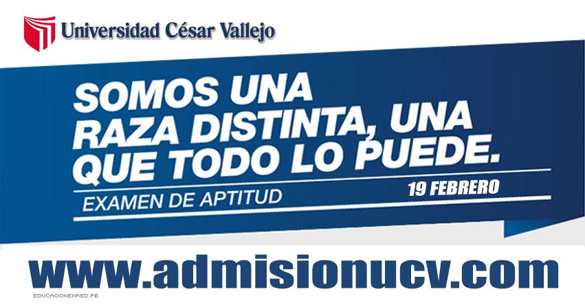 UCV: Resultados Examen de Aptitud 2017 (19 Febrero) Ingresantes Examen de Ganadores - Universidad César Vallejo - www.ucv.edu.pe | www.ucvlima.edu.pe | www.admisionucv.com