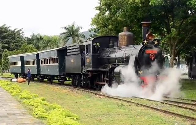Locomotive B5112 Steam Locomotive Ambarawa In Indonesia