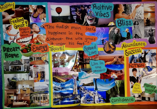 Five Keys to Making a Vision Board
