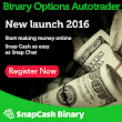 SnapCash Binary Review – Make $1200 Per Day True Case Study