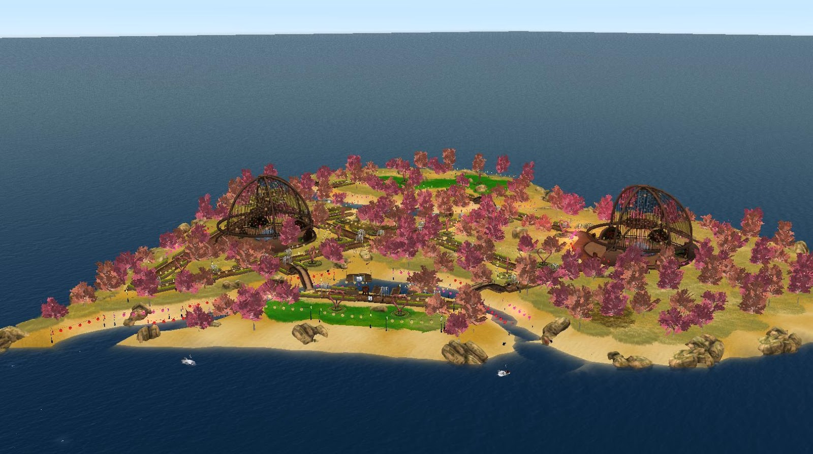 """Dunk Island Is Rebuilt: Events: Scenes From """"Hug A Linden"""" And """"Dunk A"""