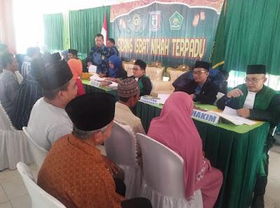 100 Pasangan Ikuti Sidang Isbat Nikah Terpadu di Kabupaten Pringsewu