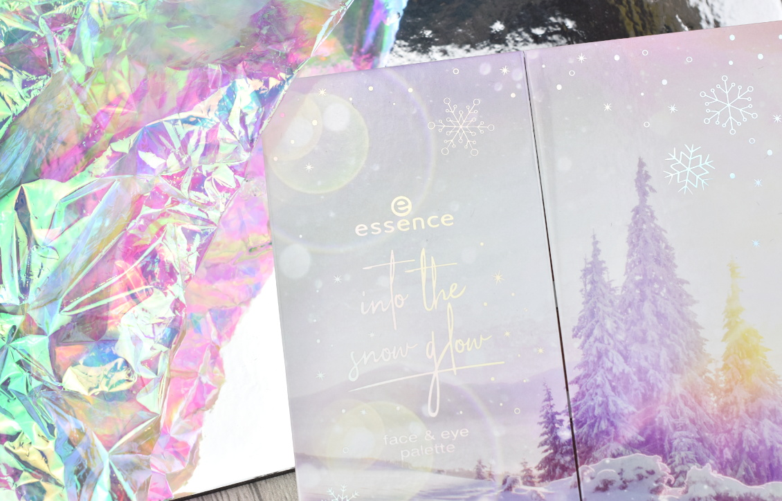 Review und Swatches essence Trend Edition 'into the snow glow' - Face & Eye Palette