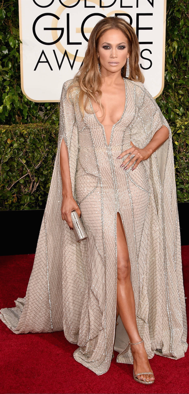 Jennifer Lopez 2015 Golden Globe Awards
