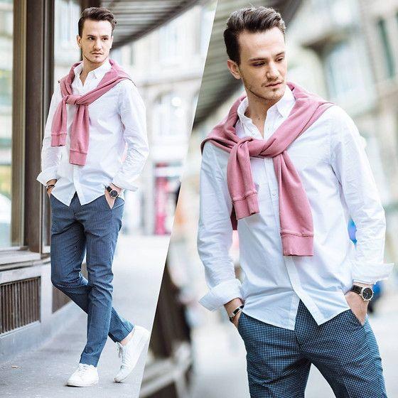 O Rosa Lavanda  é uma das Tendências de Cores para o Verão 2018 na Moda Masculina.