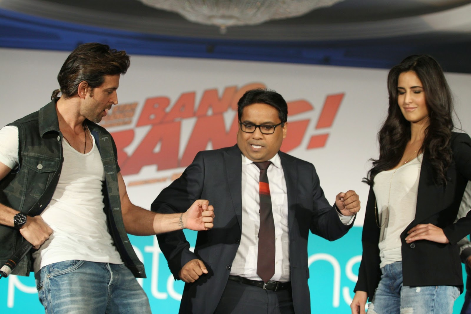 Hrithik Roshan & Katrina Kaif launch the Pantaloon 'Bang Bang!' collection