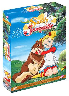 Sandy Jonquille dessin animé