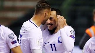 Βέλγιο - Ελλάδα 1-1:  Όρθια στις Βρυξέλλες η Εθνική