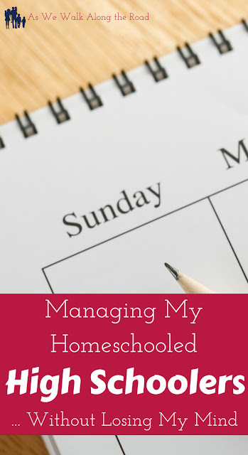 Managing homeschooled high school