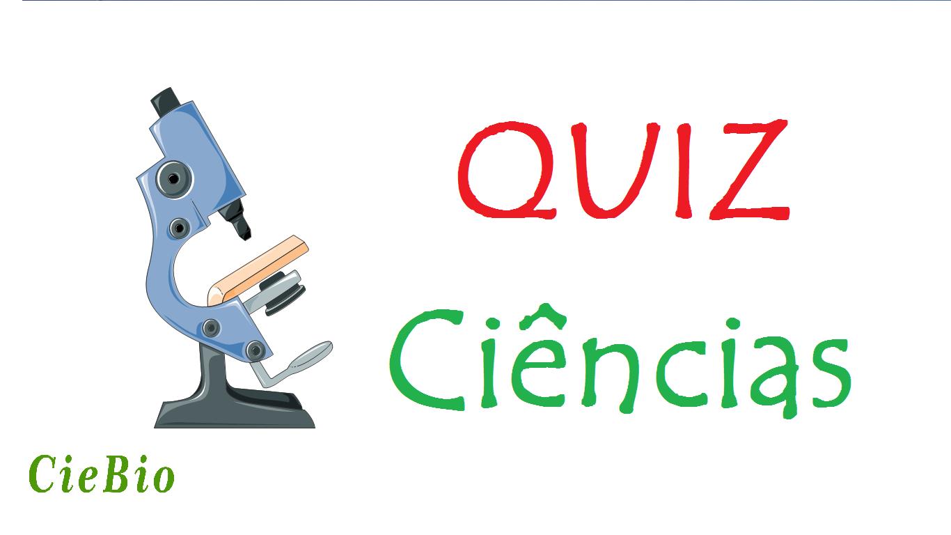 Suficiente Quiz básico de ciências para ensino fundamental. JM73