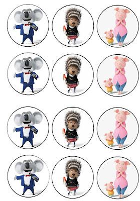 Free printable Sing Cupcake toppers