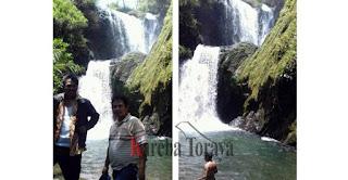 Air Terjun Tiga Tingkat di Bittuang, Wisata Terbaru Toraja