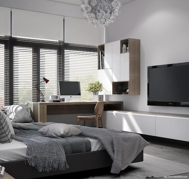 Desain Interior Kamar Tidur Sederhana