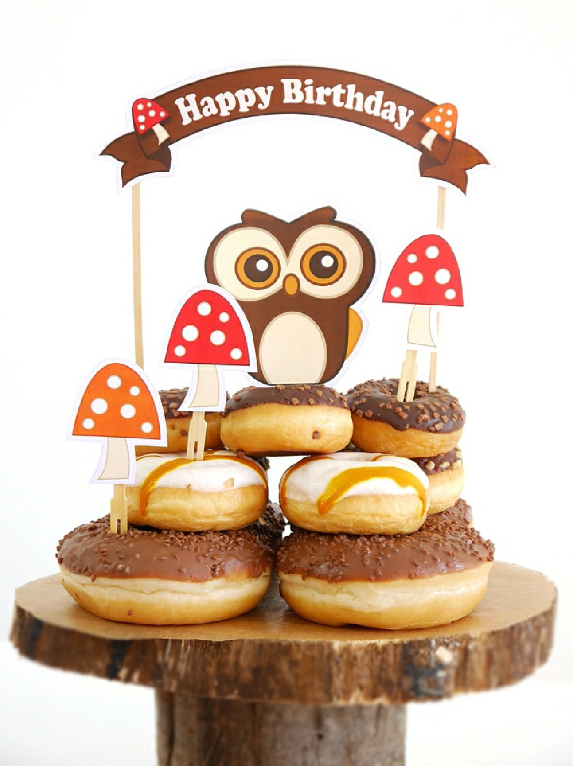 Woodland Animals Kids Birthday Party Ideas