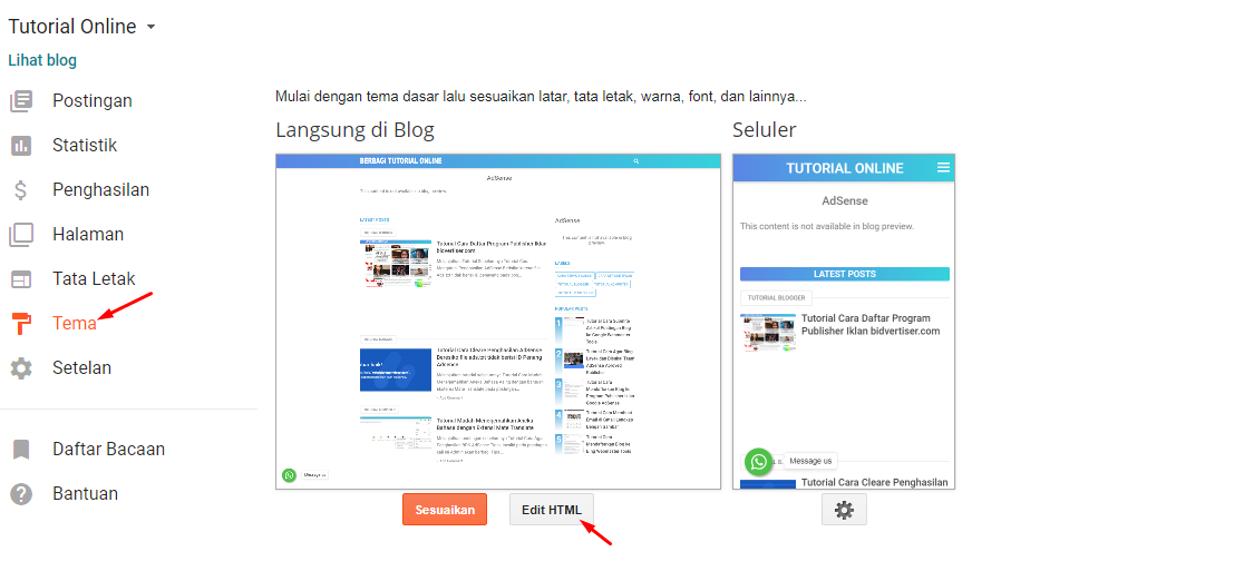 Tips Cara Memasukkan Iklan Ke Blog mudah