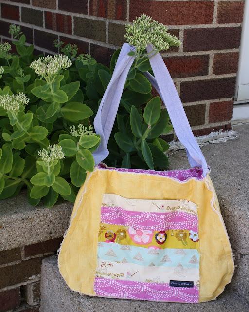 Sweet Pea and Pumpkins lexi lou rag purse pattern