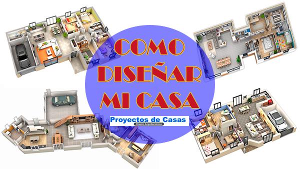 Planos de casas como dise ar mi casa proyectos de casas for Disenar mi casa online