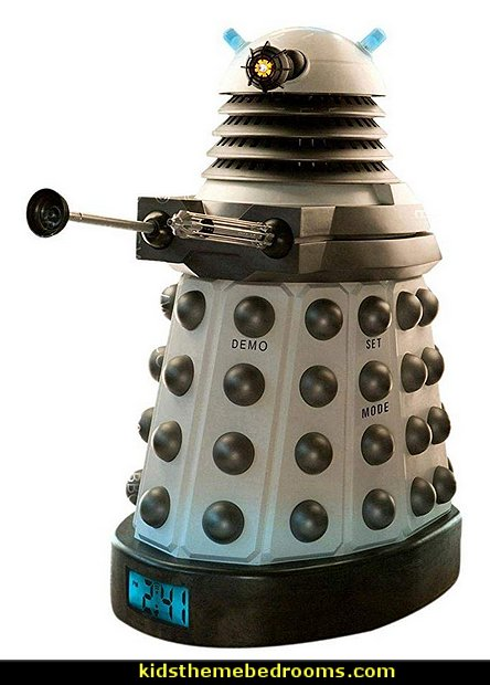Doctor Who Dalek Projector Alarm Clock  Doctor Who bedroom - Doctor Who themed bedroom ideas - decorating Doctor Who theme -  Doctor Who decor - Doctor Who Bedding - dr who bedroom ideas - Dr Who Tardis - doctor who