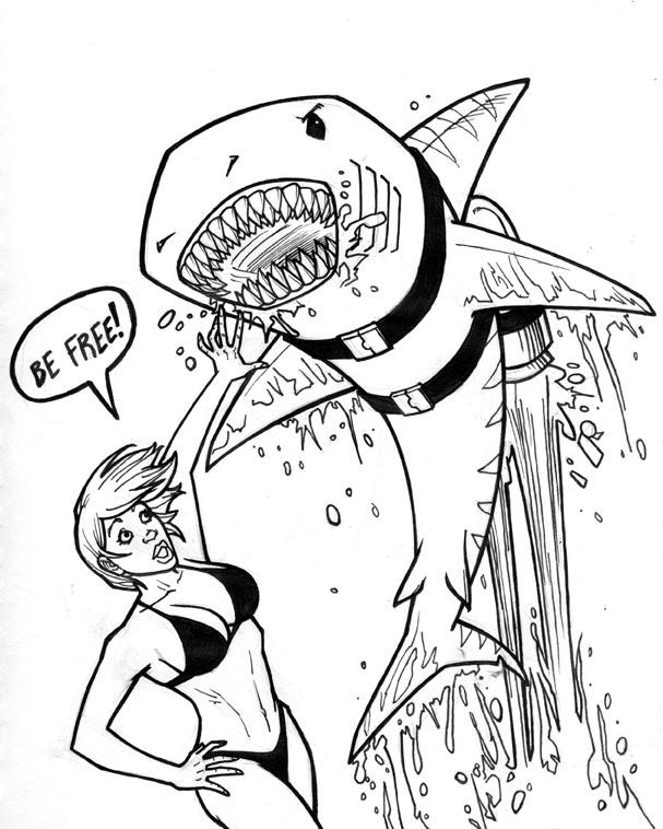 Periodic Heroes: Jetpack Shark!