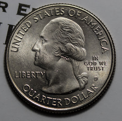 Obverse of 2015-D Homestead Quarter, Washington