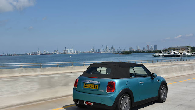 2016 Best Of Mini Convertible On Drive Review back view