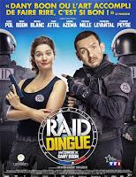 Poster de Raid dingue (Una policía en apuros)
