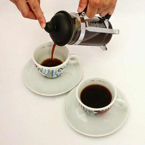 espresso dengan french press