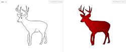 deer draw step easy