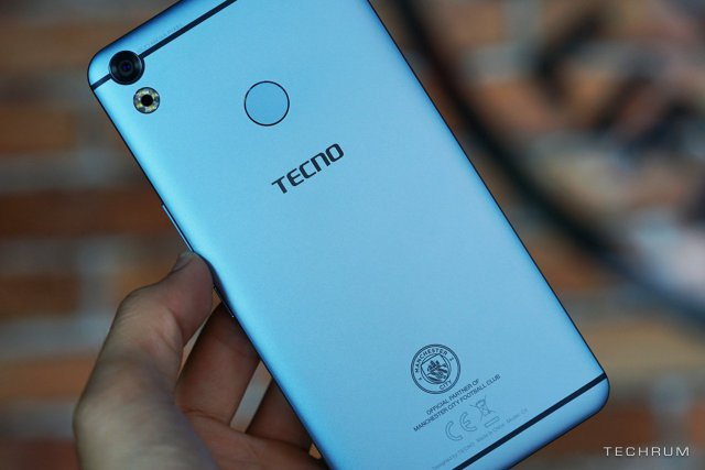 TECNO Camon CX Mancity Limited Edition